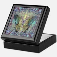 Butterfly and Tree of Life Keepsake Box