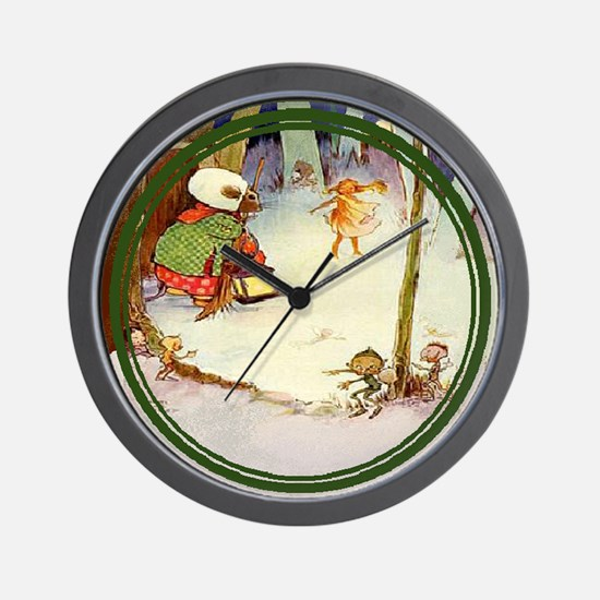 Mabel Lucie Attwell - Revamped #8 - Wall Clock