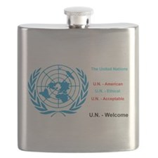 United Nations is immoral Flask