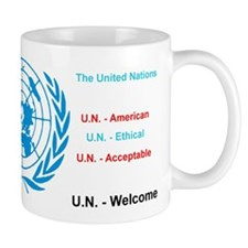 United Nations is immoral Mugs