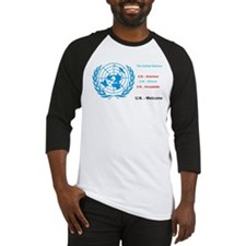 United Nations is immoral Baseball Jersey