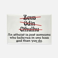 Atheist (1) Rectangle Magnet (10 pack)