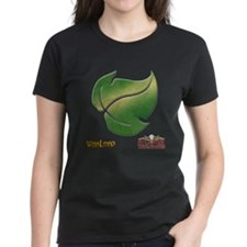 Elves Logo Women's Black T-Shirt