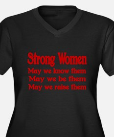 STRONG WOMEN Plus Size T-Shirt