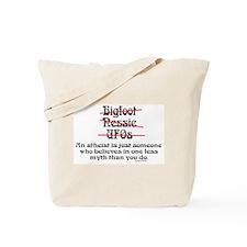 Atheist (2) Tote Bag