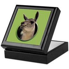 Smiling Llama Keepsake Box