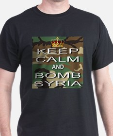 Keep Calm and Bomb Syria T-Shirt