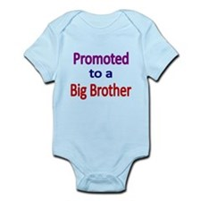 PROMOTED TO A BIG BROTHER Body Suit