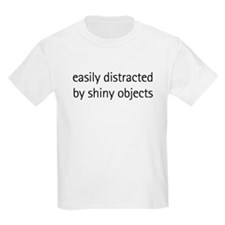 Easily Distracted by Shiny Ob Kids T-Shirt