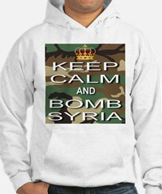 Keep Calm and Bomb Syria Hoodie