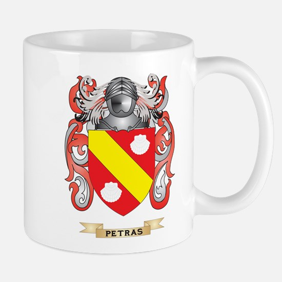 Petras Coat of Arms (Family Crest) Mugs