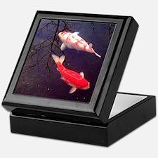 Koi Fish Keepsake Box