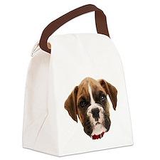 Boxer Face004 Canvas Lunch Bag