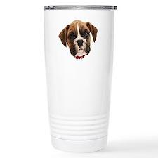 Boxer Face004 Travel Mug