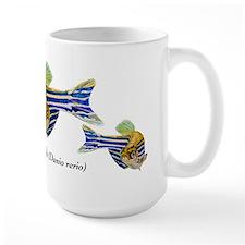 Zebrafish Art Mugs