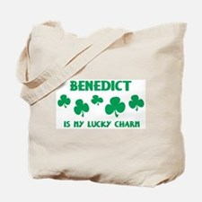 Benedict is my lucky charm Tote Bag