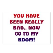 U HAVE BEEN REALLY BAD..2 Postcards (Package of 8)