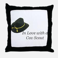 Cav Scout Family Throw Pillow