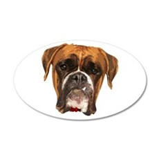 boxer_face006 Wall Decal