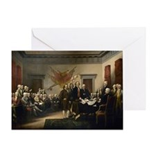 Declaration Independence Greeting Cards