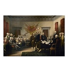 Declaration Independence Postcards (Package of 8)