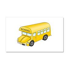 Cartoon School Bus Car Magnet 20 x 12