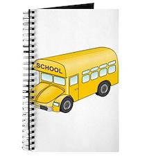 Cartoon School Bus Journal