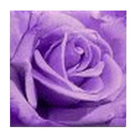 Rose Purple Tile Coaster