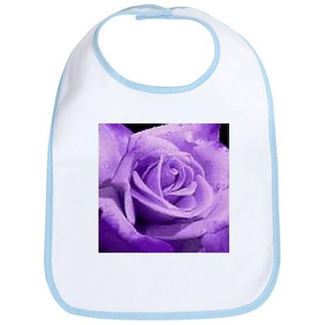 Rose Purple Bib