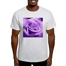 Rose Purple Ash Grey T-Shirt
