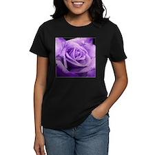Rose Purple Tee