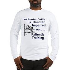 Border Collie Agility Long Sleeve T-Shirt