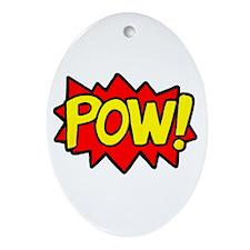 POW! Ornament (Oval)