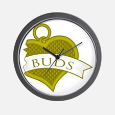 Best Buds Color (Buds) Wall Clock