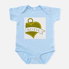 Best Buds Color (Buds) Infant Bodysuit