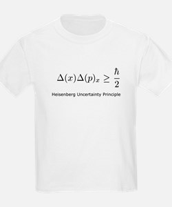 Heisenberg Uncertainty Princi Kids T-Shirt