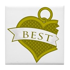 Best Buds Color (Best) Tile Coaster