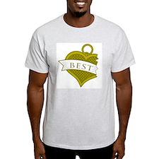 Best Buds Color (Best) Ash Grey T-Shirt