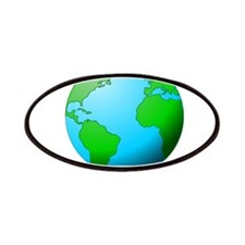 Earth Globe Patches