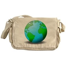 Earth Globe Messenger Bag