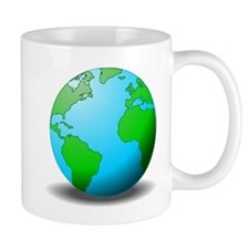 Earth Globe Mugs