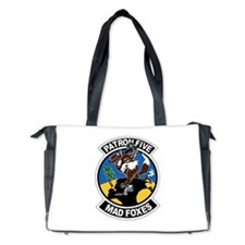 vp-5_mad_foxes.png Diaper Bag