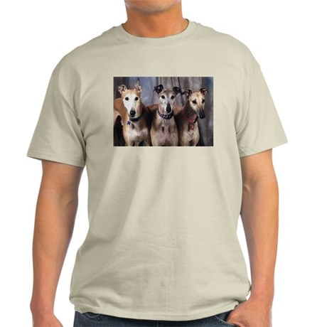 Greyhounds Three Ash Grey T-Shirt