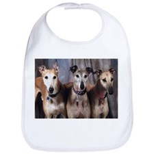 Greyhounds Three Bib