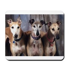 Greyhounds Three Mousepad
