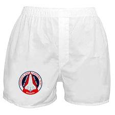 Space Shuttle test Boxer Shorts