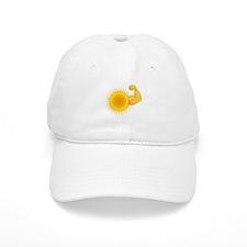 Solar Power Sun Baseball Baseball Cap