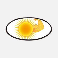 Solar Power Sun Patches