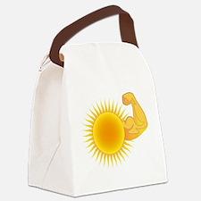 Solar Power Sun Canvas Lunch Bag