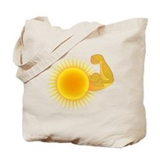 Solar Power Sun Tote Bag